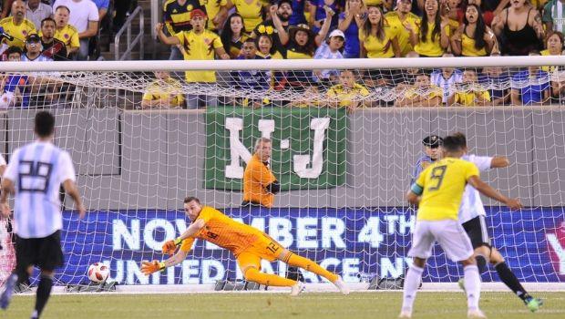 Argentina gustó aunque sólo consiguió un empate frente a Colombia