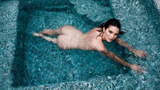 Filtran fotos de Kendall Jenner totalmente desnuda