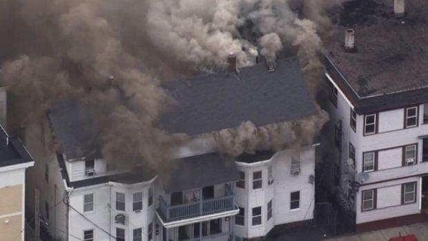 Massachusetts: una fuga de gas provocó que se incendian al menos 23 casas
