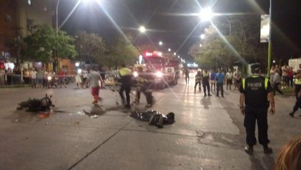 Un accidente en avenida Belgrano deja como saldo una víctima fatal