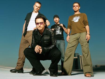 Bono, antes de empezar su show: