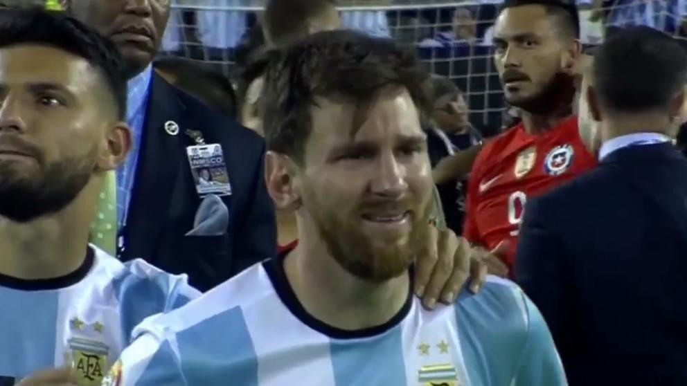 La argentina de Messi esta fuera del repechaje para el mundial