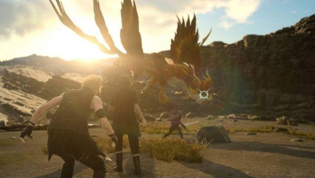Final Fantasy XV tendrá una Afrosword