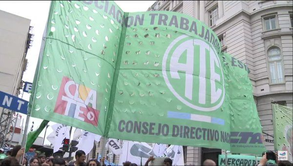 ATE va a paro nacional con movilización el 4 de octubre