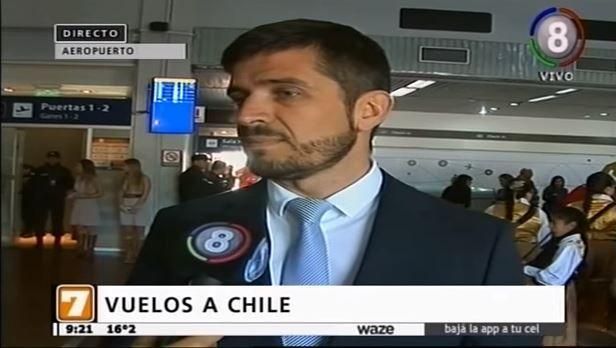 Parte el primer vuelo desde Tucumán a Santiago de Chile