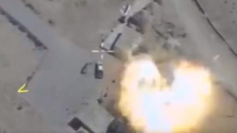 Bombardeos rusos matan a 304 terroristas en Siria en dos días