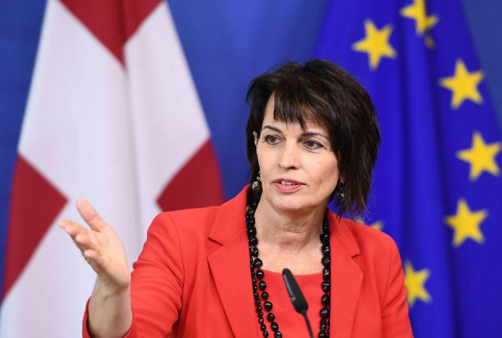 La presidenta de Suiza visitará la Legislatura porteña