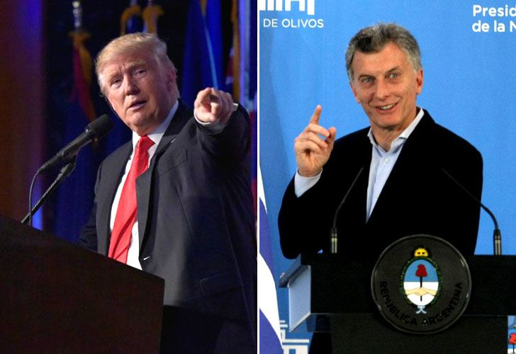 Trump recibe a Macri en la Casa Blanca
