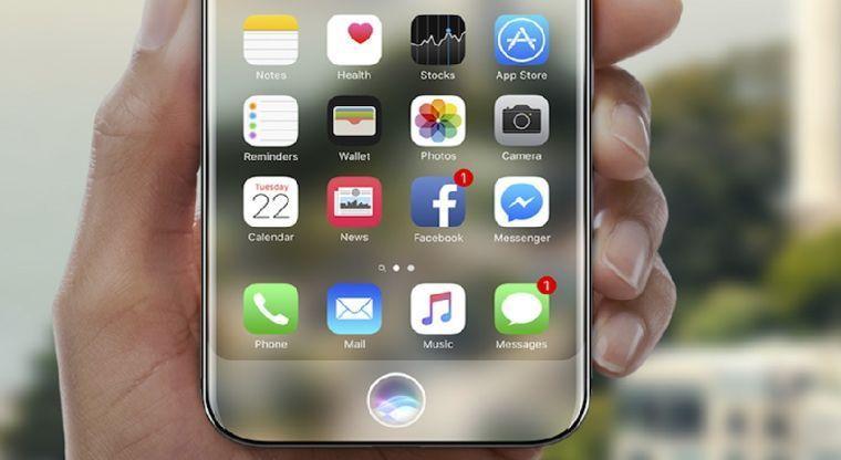 Estas serían las primeras imágenes del modelo final del iPhone 8