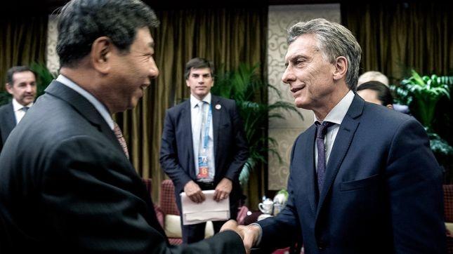 Macri renovó el compromiso chino para construir dos centrales nucleares