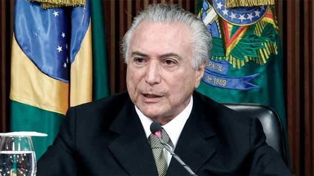 Corte Suprema de Brasil aprueba investigación sobre presidente Michel Temer