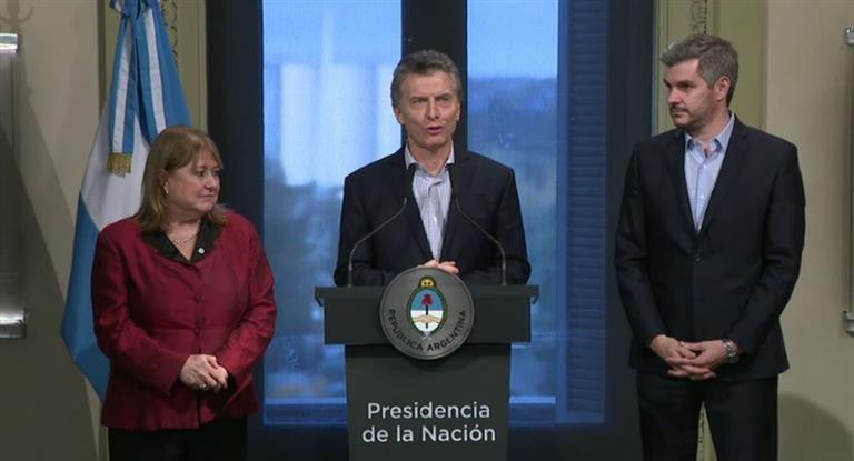 Susana Malcorra renunció a la Cancillería