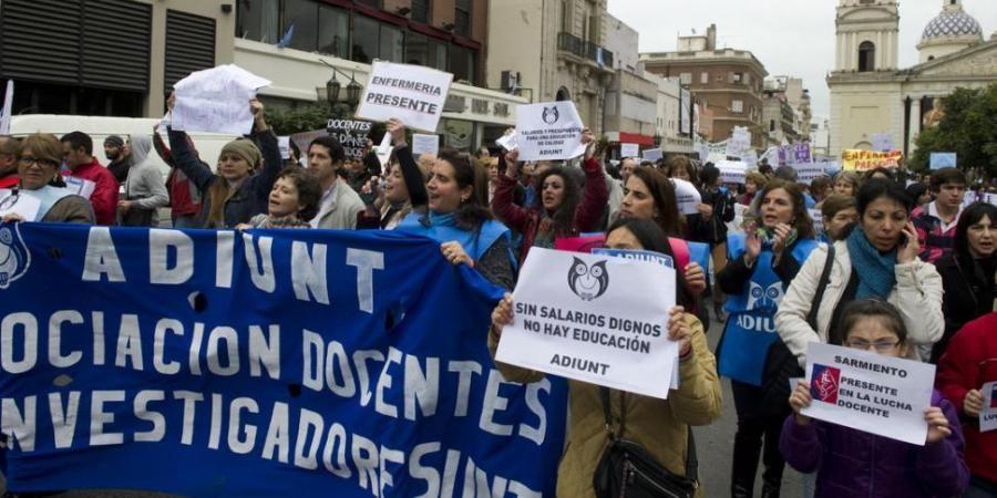 Docentes universitarios realizarán paros y jornadas de protesta miércoles y jueves