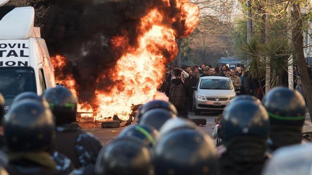 La CGT anunció una movilización, tras la represión en Pepsico