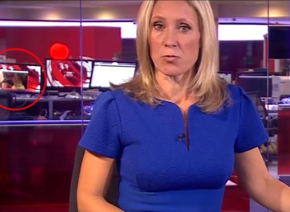 BBC muestra escena erótica durante transmisión informativa