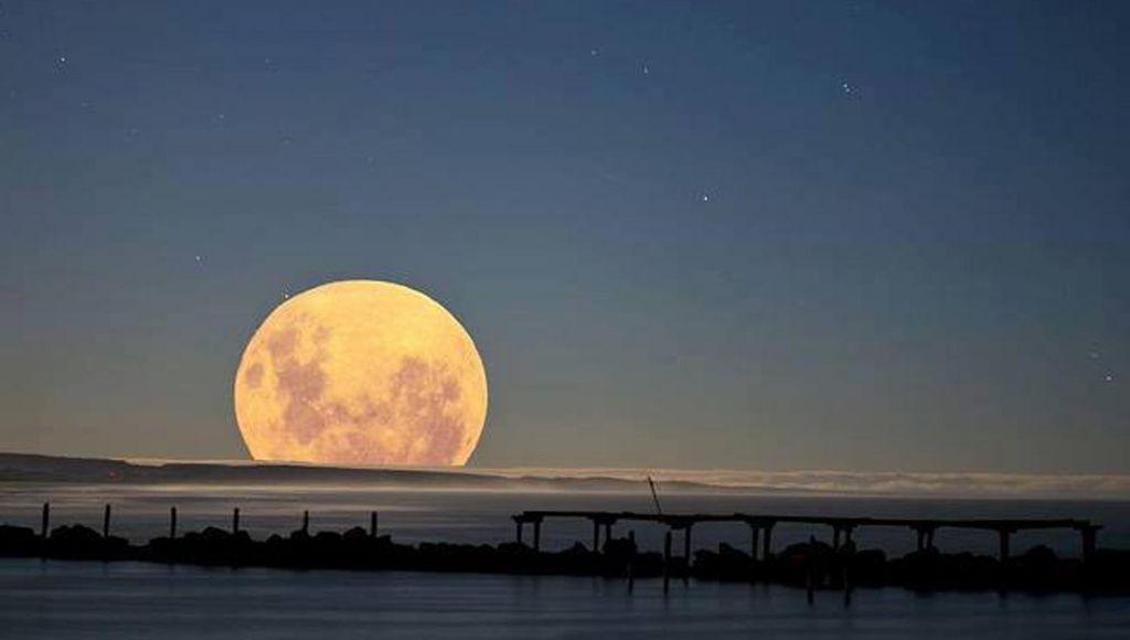 Arranca súper luna los eventos astronómicos de 2018