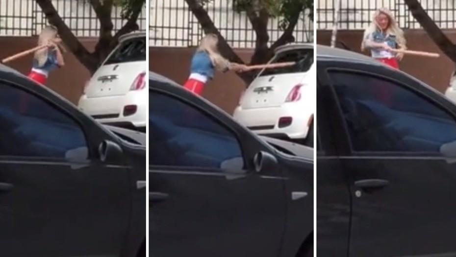 Sol Pérez, furiosa, destruyó un auto a batazos: ¿por qué lo hizo?