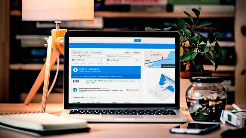 Google Flights ya está disponible en Argentina, Colombia, Chile y Perú