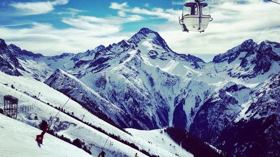 Un borracho escaló una montaña en los Alpes cuando intentaba volver a su hotel