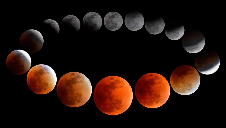 El eclipse total de Luna más largo del siglo XXI