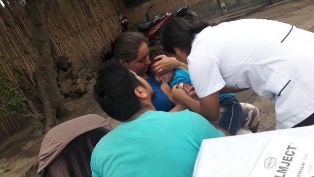 Sigue la campaña de vacunación contra el sarampión y la rubeóla