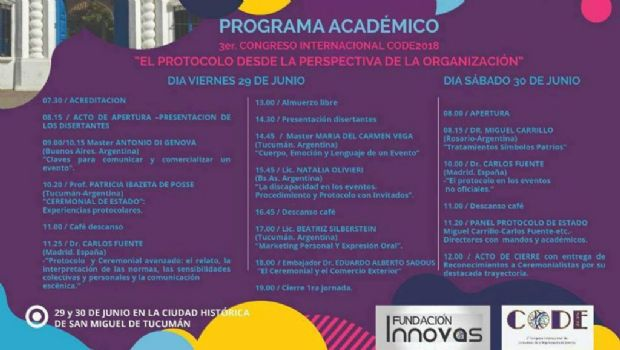 Se desarrolla el  3º Congreso internacional de comunicación y organización de eventos