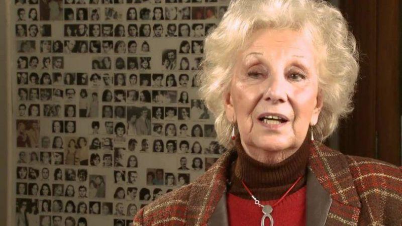 """Abuelas presentaron un proyecto para que nadie discuta los """"30.000 desaparecidos"""""""