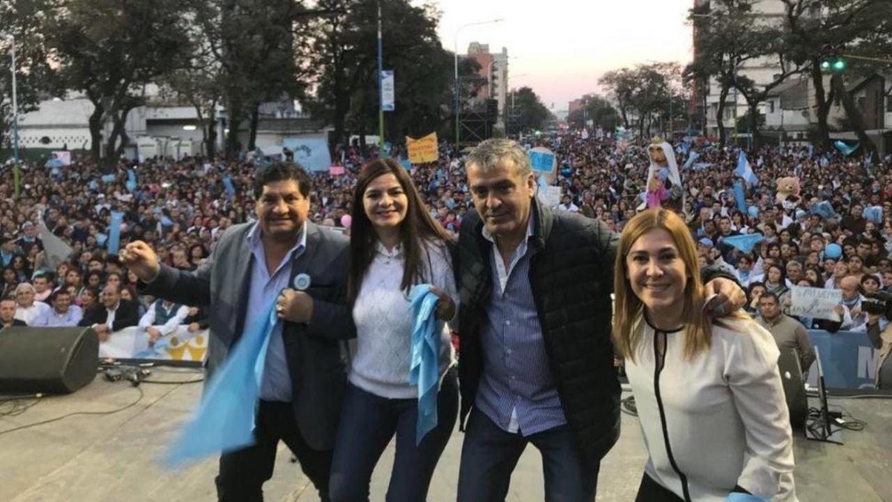 Referentes unidos por una misma consigna marcharon por la vida   Tucumán a  las 7