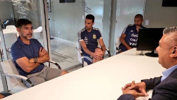 """El """"Ratón"""" Ayala se suma al cuerpo técnico de la Selección Argentina"""