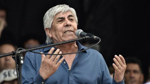 Hugo Moyano aseguró que harán un nuevo paro general