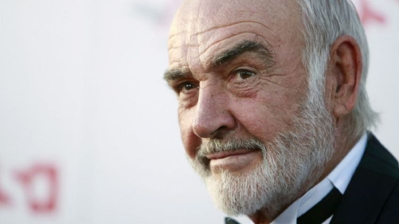 Murió Sean Connery